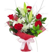 Букет цветов ПАРИЖАНКА