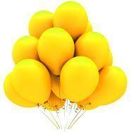 Гелиевый шар жёлтый