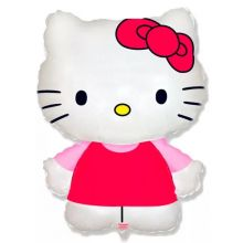 Hello kitty фольгированный шарик